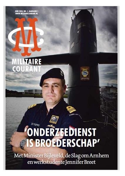 Militaire Courant juni 2018 omslag